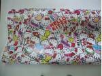 Stickerbomb fólia HD-052 (Hello Kitty), rozmer 3,1m x 1,52m