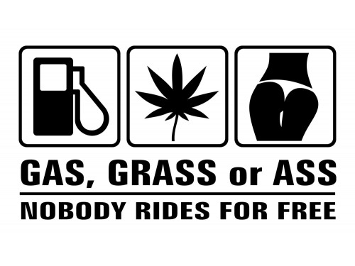 Gas, grass or
