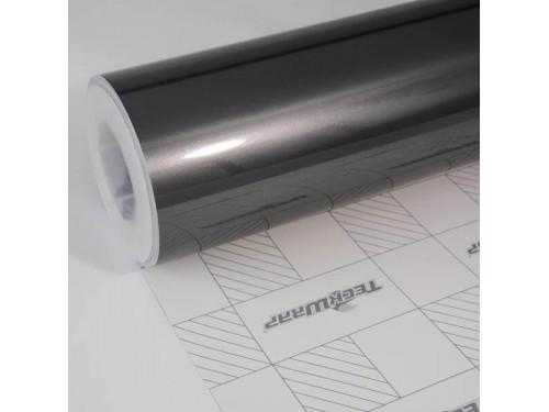Šedá lesklá Aluminium metalická fólia - S