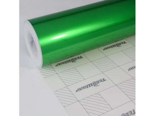 Leaf zelená lesklá metalická fólia