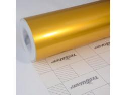 Zlatá lesklá metalická fólia