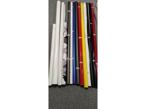 Dorezy značkových fólií, Oracal, KPMF, Teckwrap - 1